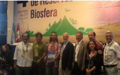 """Carlo Sabaini, Director del Programa Restauración biológica de suelos del Centro Ceres, expone sobre la Reserva de la Biósfera de la región de Valparaíso """"La Campana-Peñuelas"""" en importante congreso internacional."""