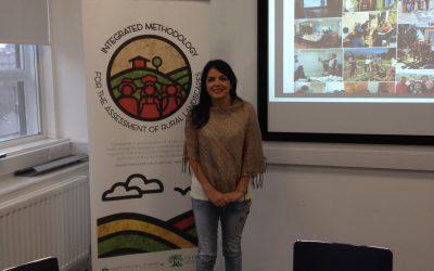"""Investigadores del Centro Ceres participan en workshop """"Una metodología para la valorización del paisaje rural en Chile"""", realizado en la Universidad de Newcastle, Reino Unido"""