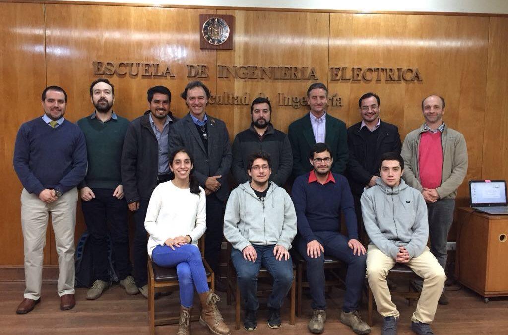 Ceres firma convenio con Escuela de Ingenieria Eléctrica PUCV (EIE) para trabajar en conjunto con ayudantías de investigación relacionadas a la agricultura.