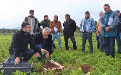 Centro Ceres realiza taller de biodiversidad y restauración biológica de suelos a agricultores de SAT INDAP