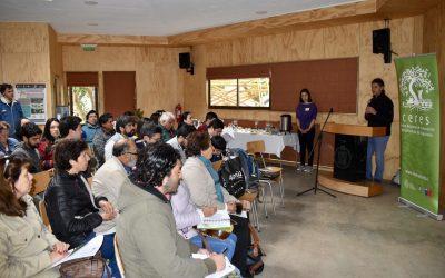Destacado agrónomo argentino dicta taller práctico de huerta orgánica biointensiva en centro Ceres