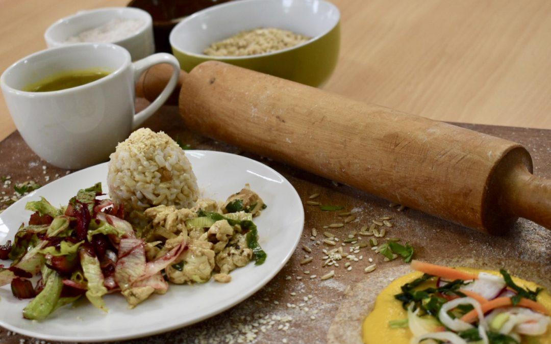 Recetas macrobióticas y alimentos orgánicos se lucen en Taller de Nutrición y Salud
