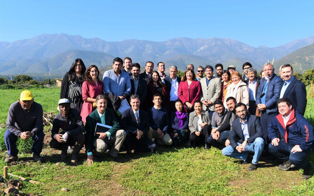 Exitosa jornada de vinculación reúne a Consejeros Regionales de Valparaíso en Centro Ceres