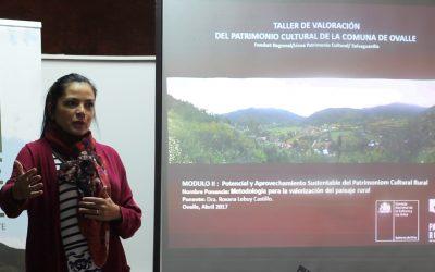 Patrimonio agroalimentario, paisaje y bienestar para el desarrollo territorial: Centro Ceres participa en ciclo de conferencias sobre la conservación del patrimonio en la comuna de Ovalle.