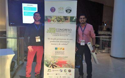 Investigadores de Ceres presentan cuatro trabajos al 68° Congreso Agronómico de Chile en La Serena.