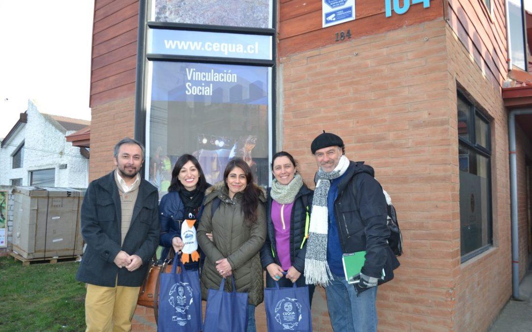 Intercambiando experiencias con centros Regionales: Ceres visita Fundación CEQUA, Centro Regional de la región de Magallanes y la antártica.