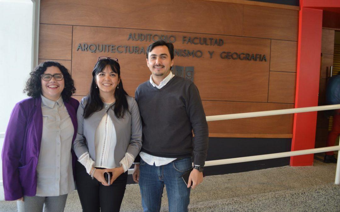 """Dra. Lebuy dicta charla titulada: """"Espacio rural y su interacción con lo urbano: el paisaje y soberanía alimentaria"""", en la Universidad de Concepción."""