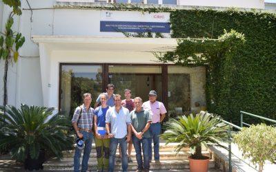 Equipo de Ceres realiza gira tecnológica a las principales zonas de producción natural de chirimoyas de España.