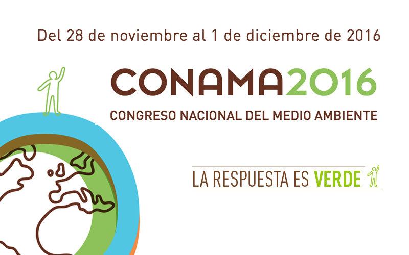 Centro Ceres participa en el Congreso Nacional de Medio Ambiente, CONAMA 2016 en España.