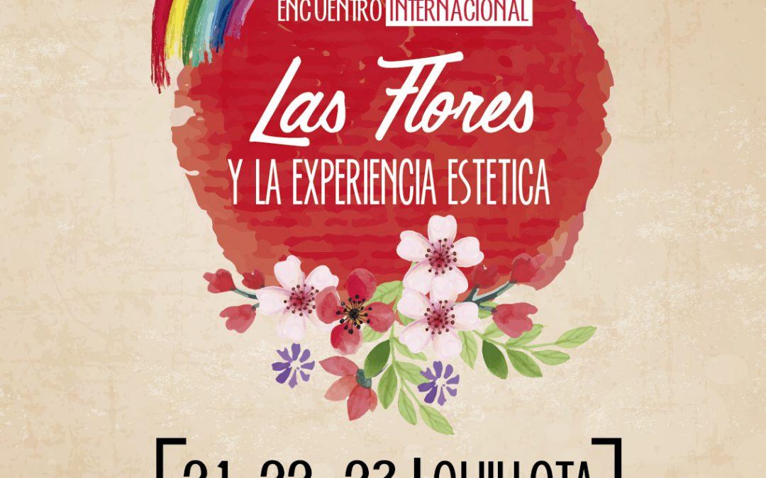 """Los invitamos al evento """"Las flores y la experiencia estética"""" en el Centro Cultural de Quillota"""