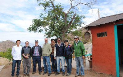 Investigadores de la institución del Reino Unido, F3The Local FoodConsultants, visitan el Centro Ceres para trabajar en un proyecto para la creación de una Unidad de Emprendimiento Rural.