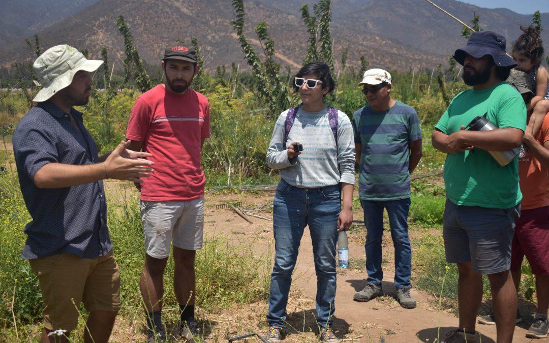 """Javier Zamora Acosta, líder NAP La Ligua: """"Tenemos la esperanza de que la pequeña agricultura en la provincia de Petorca sobrevivirá mediante la agroecología"""""""