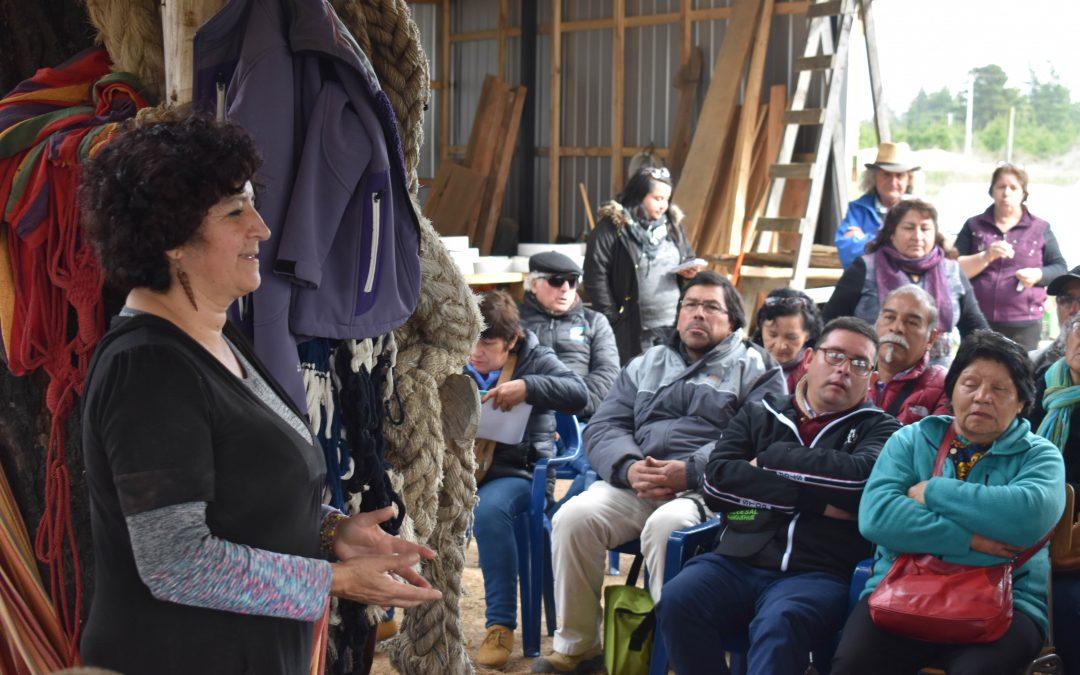 """Lilian Vásquez, lidereza NAP Algarrobo: """"Este proyecto busca que la gente no se enferme, eso es llegar a una agricultura limpia"""""""