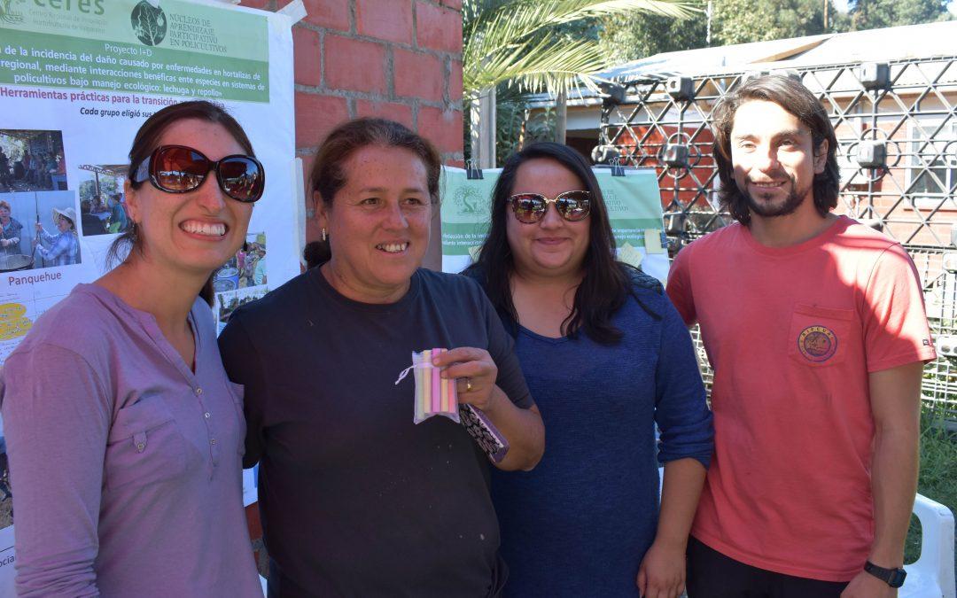"""Mónica Arévalo, lidereza NAP Catemu y extensionista comunitaria: """"El conocimiento es riqueza y he aprendido mucho, ahora debo pasárselo a otra gente y siempre decirles que sí se puede"""""""