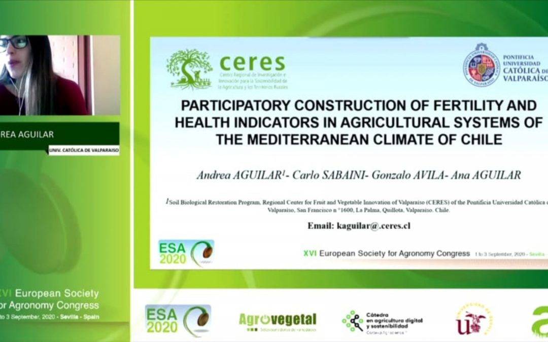 Investigadoras de programa RBS participan en XVI Congreso de la Sociedad Europea de Agronomía (ESA)