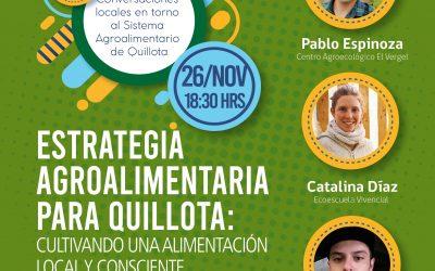 Actores locales abordan rol de la educación en ciclo de conversatorios sobre Sistema Agroalimentario de Quillota