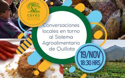 Centro Ceres te invita a conversar sobre el Sistema Agroalimentario de Quillota