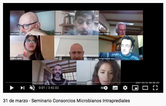 Masivo encuentro online reúne a investigadores, agricultores e instituciones públicas en seminario sobre consorcios microbianos