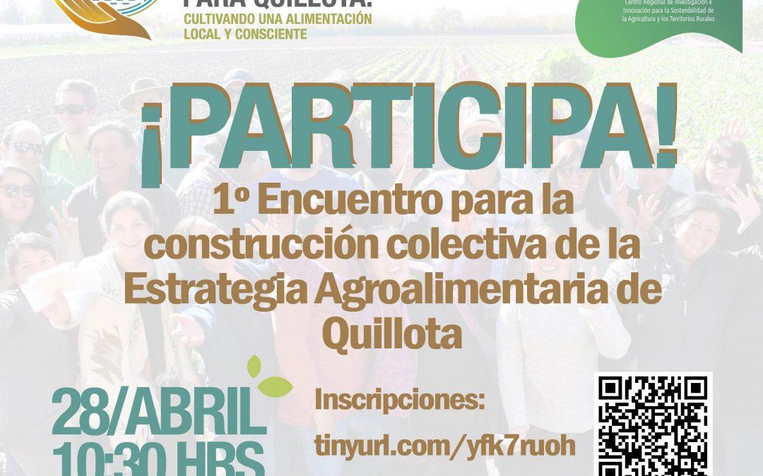 Inicia Ciclo de Encuentros para la construcción de Estrategia Agroalimentaria para Quillota
