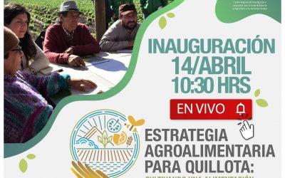 Centro Ceres y Municipalidad de Quillota inaugurarán proyecto Estrategia Agroalimentaria para Quillota
