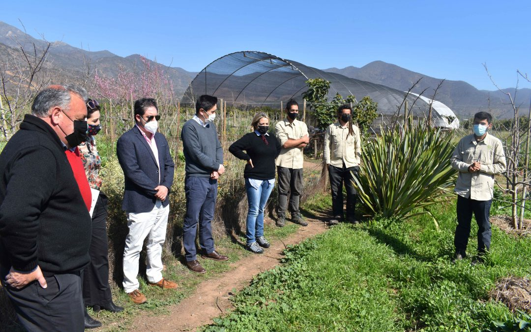 Centro Ceres, autoridades locales y regionales analizan acciones conjuntas para una agricultura sostenible